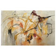 """""""Cathedral,"""" A Large Framed Abstract Painting by Kathi Robinson Frank"""