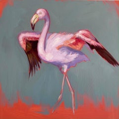 Strut - original painting Contemporary wildlife Art 21st Century