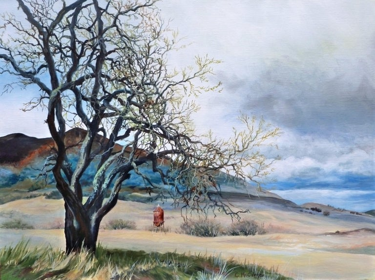 Catherine McCargar Landscape Painting - Aging in Place, Original Painting