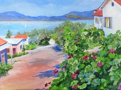 With a View to the Water, Original Painting
