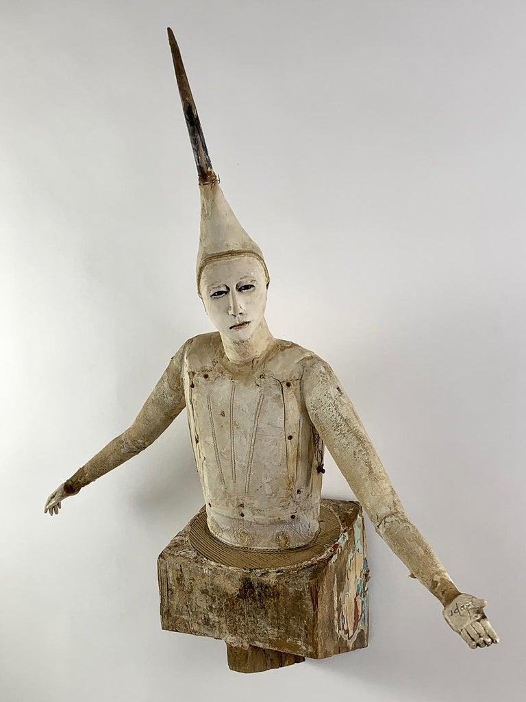 Cathy Rose Figurative Sculpture - Adapt