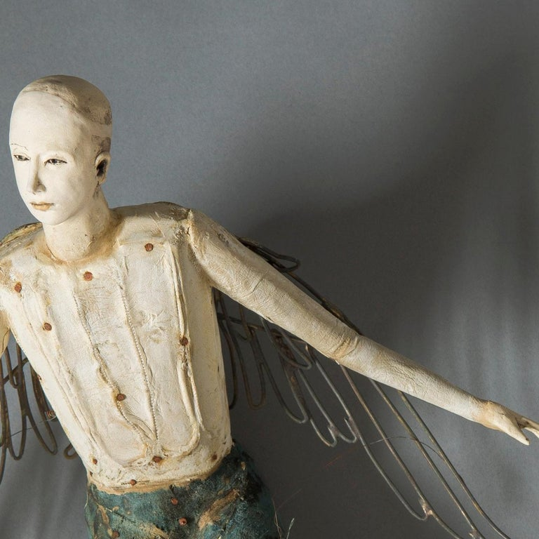 Flight - Sculpture by Cathy Rose