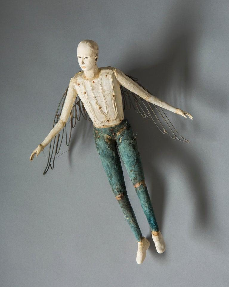 Cathy Rose Figurative Sculpture - Flight