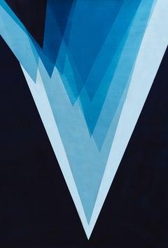 Originis - Deep Blue, Painting, Acrylic on Canvas