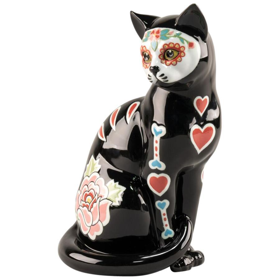 Catrina Cat Figurine