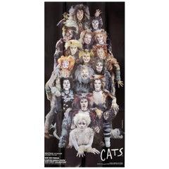"""Cats"" 1980s U.S. Three Sheet Theatre Poster"