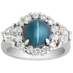 Cat's Eye Alexandrite Ring