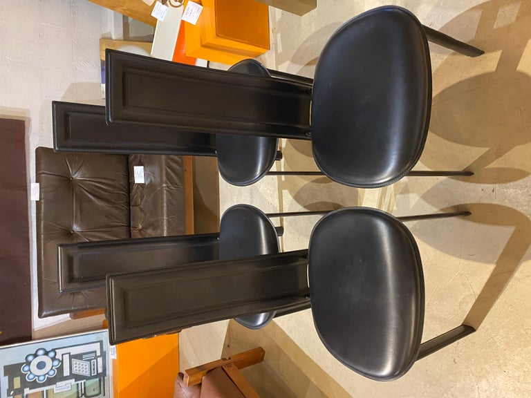Late 20th Century Cattelan Italia Suite of 4 Chairs For Sale
