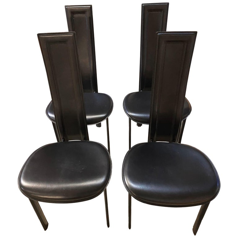 Cattelan Italia Suite of 4 Chairs For Sale
