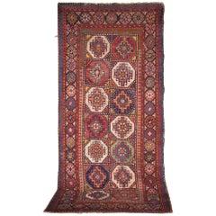 Caucasian Moghan Kazak Carpet, circa 1880