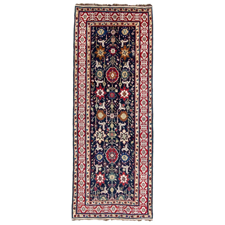 Caucasian Shirvan Long Rug For Sale