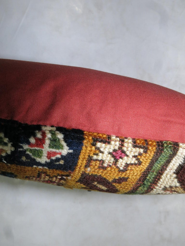 Caucasian Shirvan Pillow In Good Condition For Sale In New York, NY