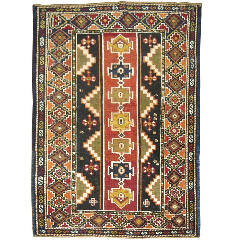 Caucasian Shirvan Small Rug For Sale