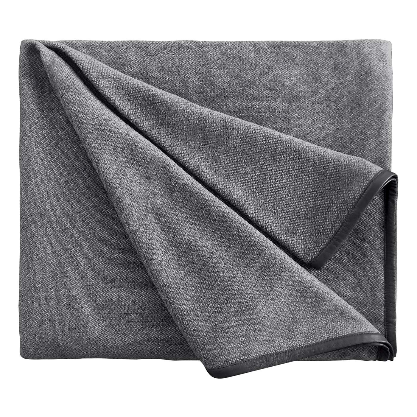 Cavalieri Grey Blanket by Midsummer Milano