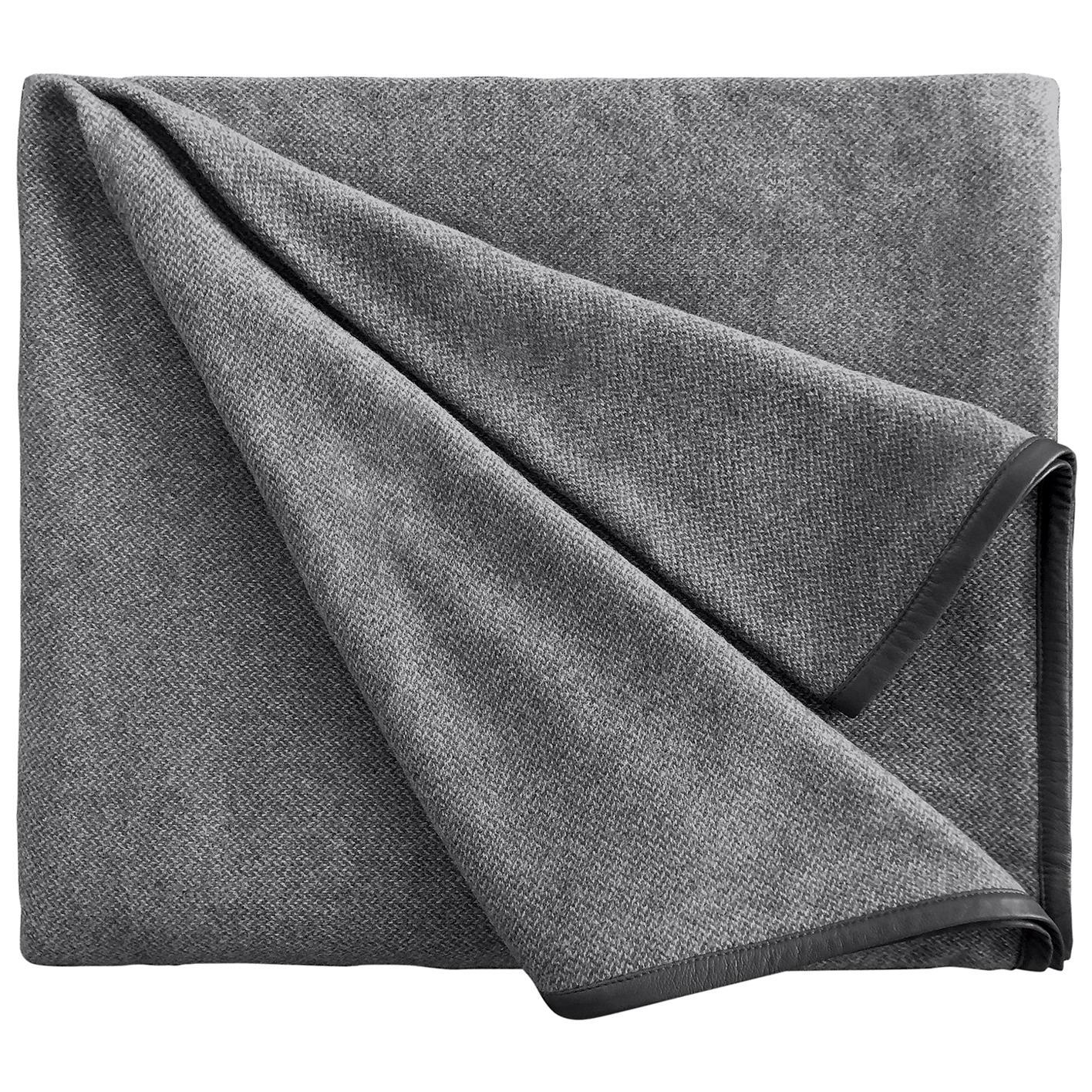Cavalieri Grey Blanket
