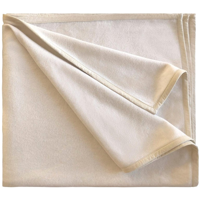Cavalieri White Blanket For Sale