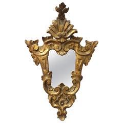 Cavallo Baroque Revival Carved Giltwood Mirror