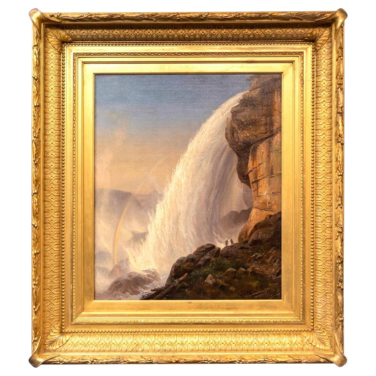 """Cave of the Winds, Niagara Falls"" by Joachim Ferdinand Richardt"