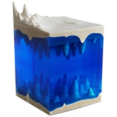 Caverna Contemporary Sculpture, by Eduard Locota resin Acrylic Glass & Marble
