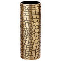 Cayman Brass Vase