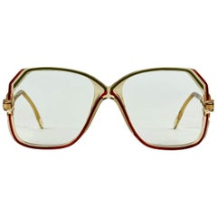 Cazal Vintage Clear Sunglasses 149 West Germany 52/16 130 mm