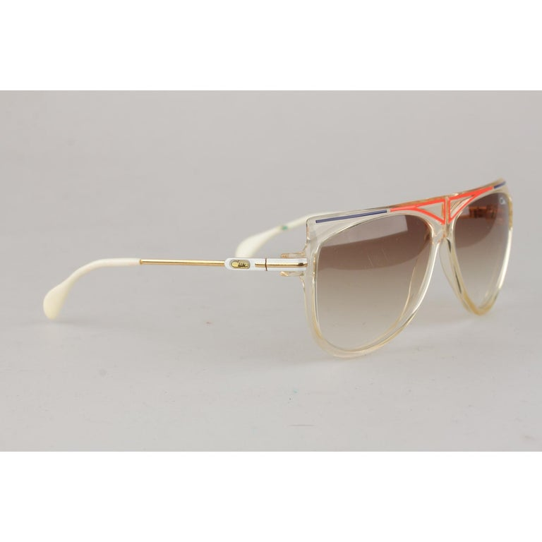 85524f8edbc1 CAZAL Rare squared style vintage sunglasses from the end of the 1970s, Made  in West