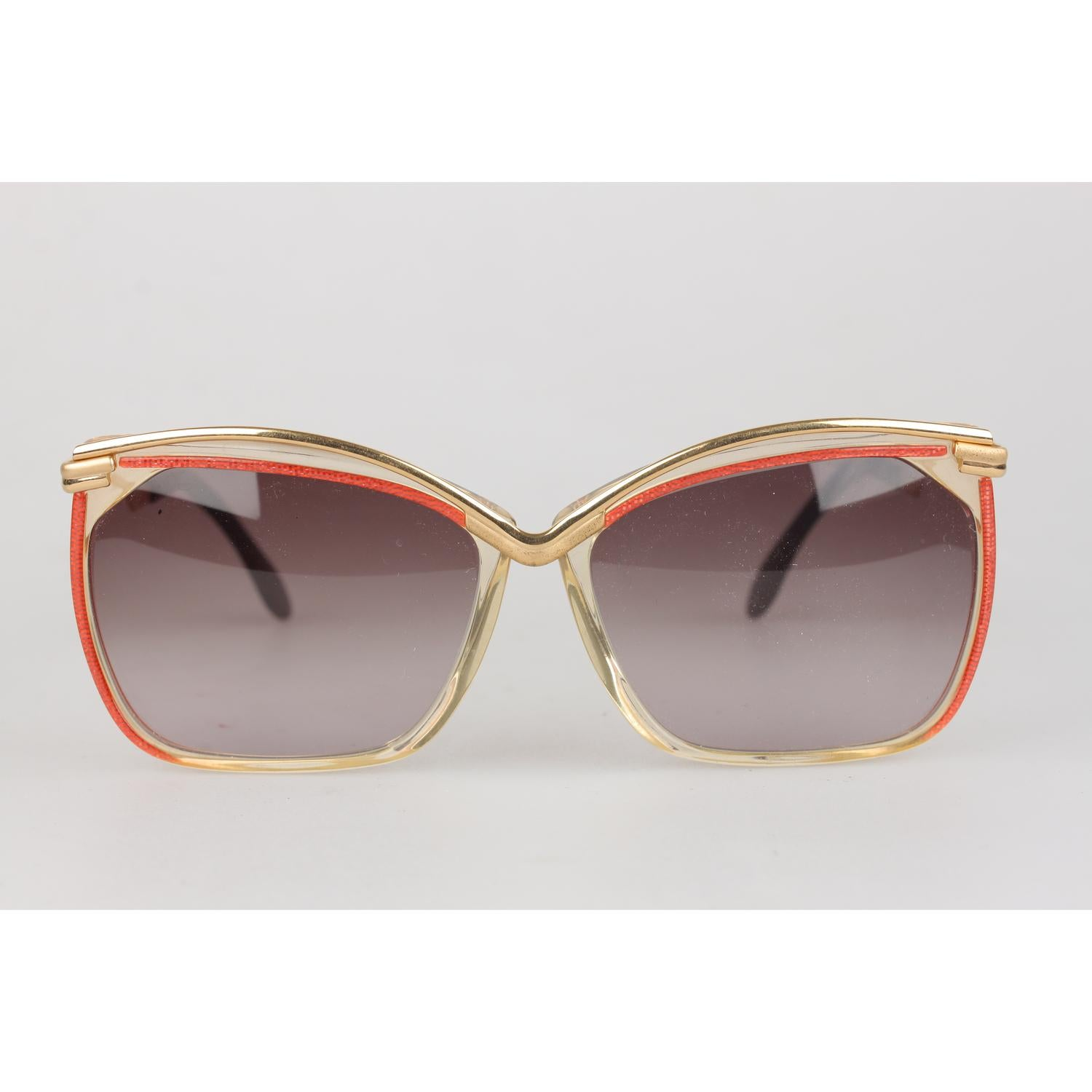 4bd50c593a4 Cazal Vintage Sunglasses 157 col 158 West Germany 58mm New Old Stock For  Sale at 1stdibs