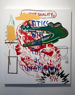 """SHIT CRITICS SAY"" (Warhol x Basquiat)"