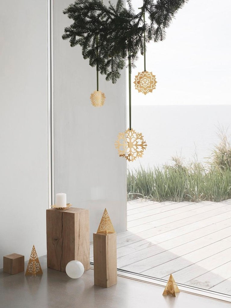 Danish Cc 2020 8 Pcs Gift Set Bell, Ball, Heart Palladium For Sale