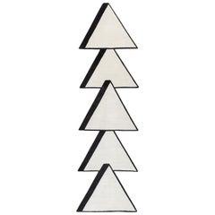 CC Tapis Archer Ziggurat Standard Rug by Taher Asad-Bakhtiari