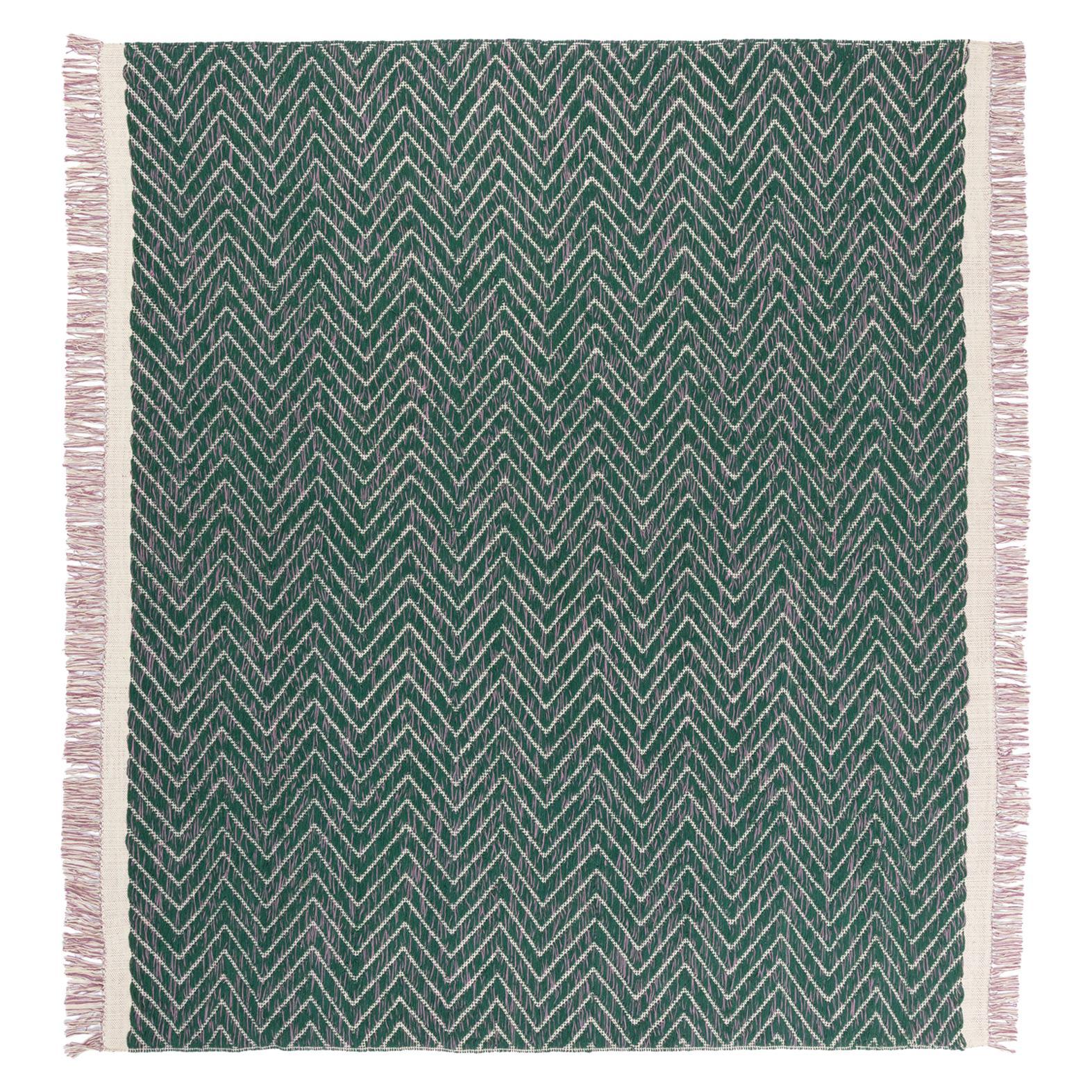 CC Tapis Cultivate Chevron Handmade Rug in Himalayan Wool by Yuri Himuro