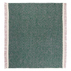Gesture CC Tapis Cultivate Chevron Handmade Rug in Himalayan Wool by Yuri Himuro