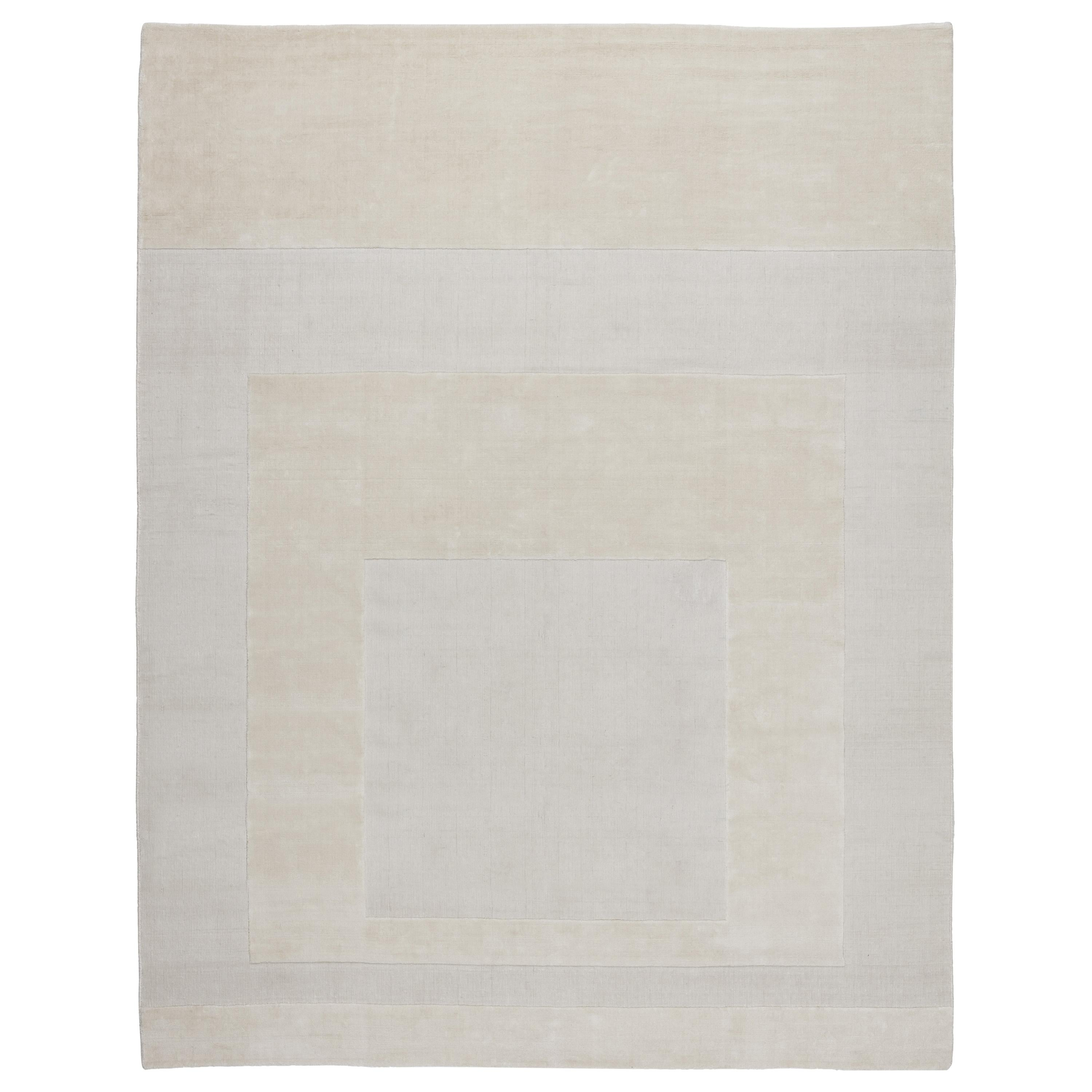 CC-Tapis Cut Out 2.0 Linen Rug by A. Parisotto and M. Formenton