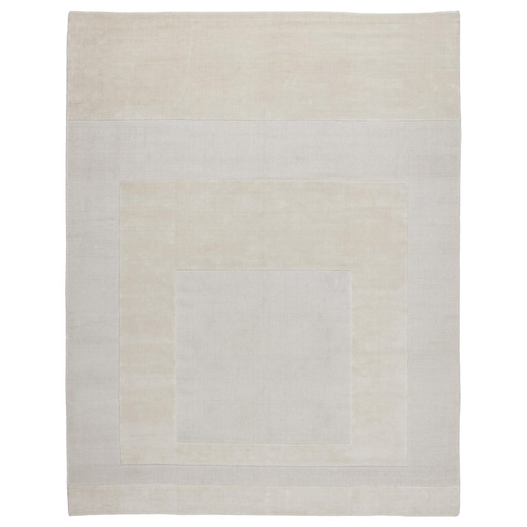 CC-Tapis Cut Out 2.0 Linen Rug by A. Parisotto and M. Formenton For Sale