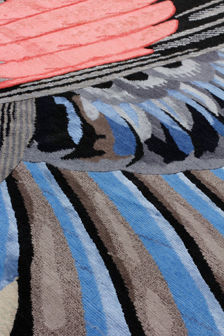 Modern CC-Tapis Feathers Freeform by Maarten De Ceulaer For Sale