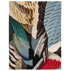 CC Tapis Feathers Rectangular Standard Rug by Maarten De Ceulaer