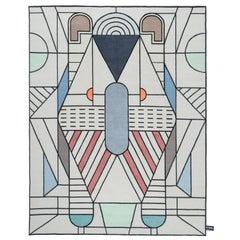CC-Tapis Flatlandia Eulero Outline Rug by Elena Salmistraro