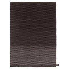 CC-Tapis Inventory Cage Rug in Charcoal by Faye Toogood