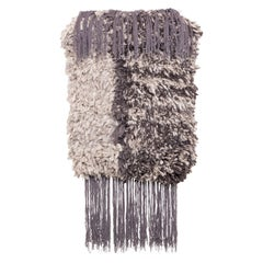 CC-Tapis Lanolin Wall Hanging in Brown by Daniele Lora
