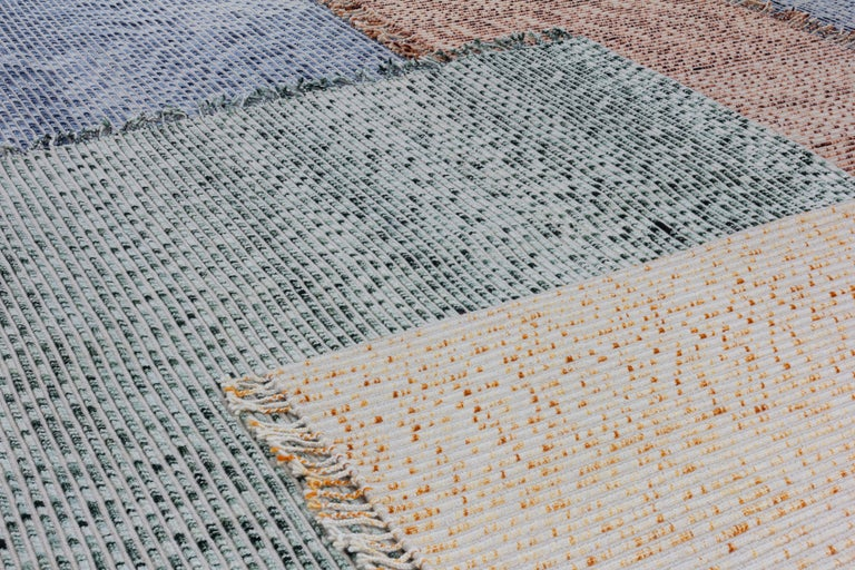 CC Tapis Lines Handmade Rug in Himalayan Wool by Philippe Malouin In New Condition For Sale In New York, NY