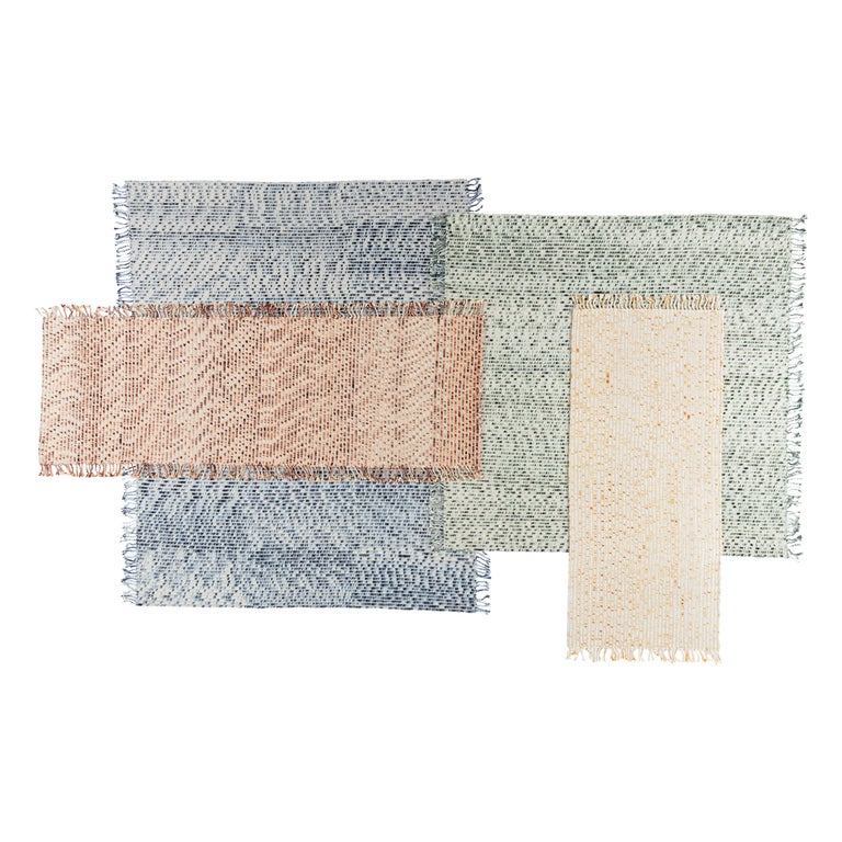 CC Tapis Lines Handmade Rug in Himalayan Wool by Philippe Malouin For Sale
