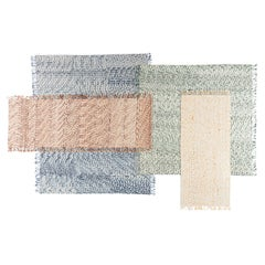 Gesture CC Tapis Lines Handmade Rug in Himalayan Wool by Philippe Malouin