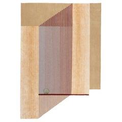 CC Tapis Mindscape Mimic Handmade Rug in Wool & Silk by Mae Engelgeer