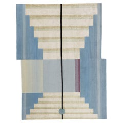 Gesture CC Tapis Mindscape Stage Handmade Rug in Wool and Silk by Mae Engelgeer