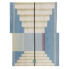 CC Tapis Mindscape Stage Handmade Rug in Wool and Silk by Mae Engelgeer