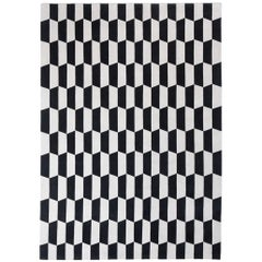 CC Tapis P.A.N.E. Black and White Pattern Rug