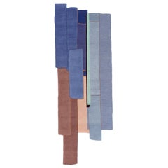Gesture CC Tapis Patcha Runner Handmade Rug in Grey by Patricia Urquiola