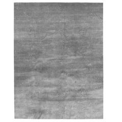 cc-tapis Plain Rug in Bamboo Silk Normal Pile