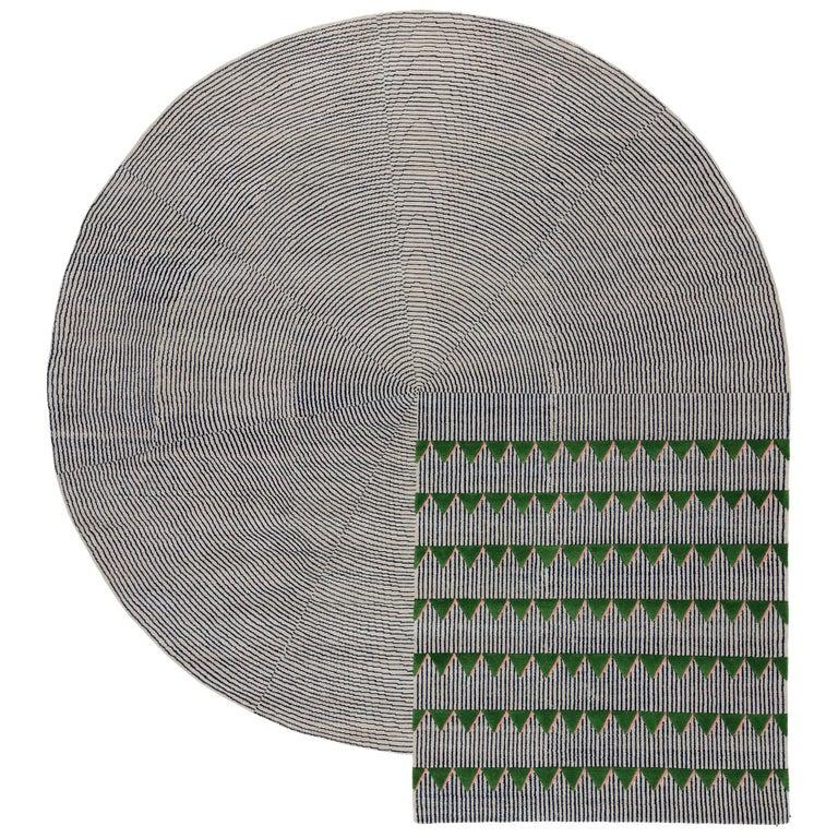 For Sale: Gray (Standard) CC-Tapis Plasterworks C Rug by David/Nicolas