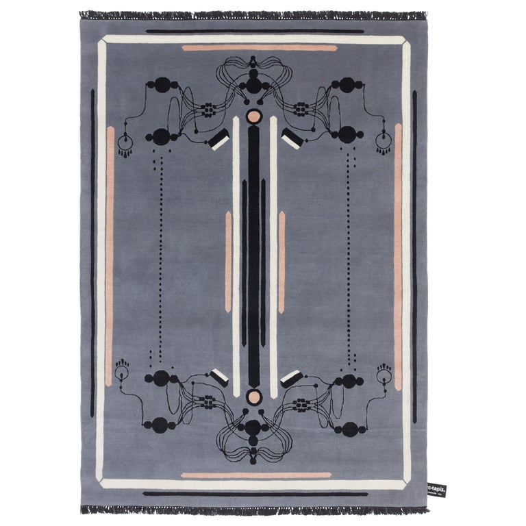 CC-Tapis Ritournelle Rug by Federico Pepe For Sale